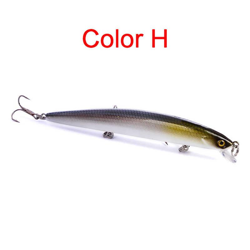 1 PC Mengambang Ikan Kecil Memancing Umpan Wobblers Pesca Isca Buatan Leurre Peche Jerkbait Memancing Ikan Mas Umpan Keras 12.5 Cm 13.5G
