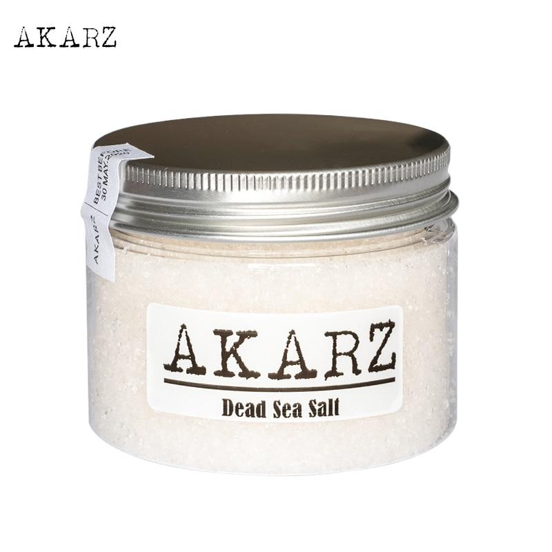 AKARZ Brand 100% Pure Mineral Dead Sea Salt Origin Jordan Fine Grain Relieving Psoriasis Eczema And Acne Skin Body Care