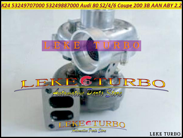 K24 53249707000 53249887000 034145703B Turbo Turbocharger For Audi 80 S2 S4 S6 200 Coupe 200 quattro 1989- 3B AAN ABY 2.2L 220HP audi coupe quattro купить витебск