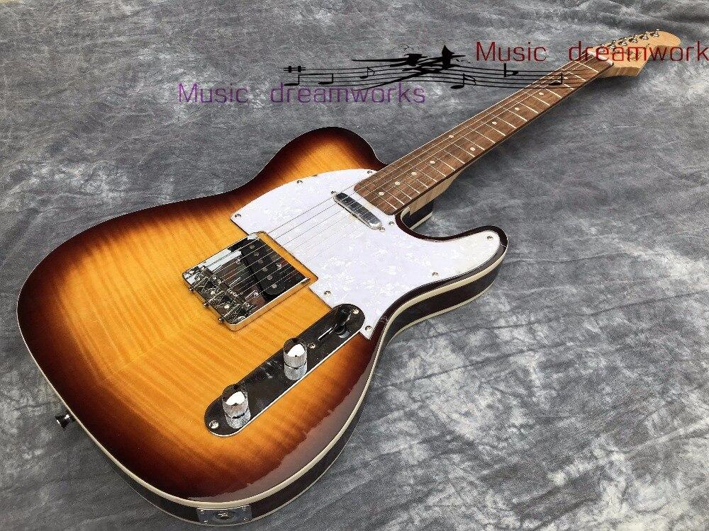 Китай firehawk гитара на заказ электрогитара клена шеи Бесплатная доставка