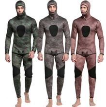 3MM thickened diving suit, mens neoprene swimmingsurfing suit, long sleeved swimsuit, fishing free diving suit.