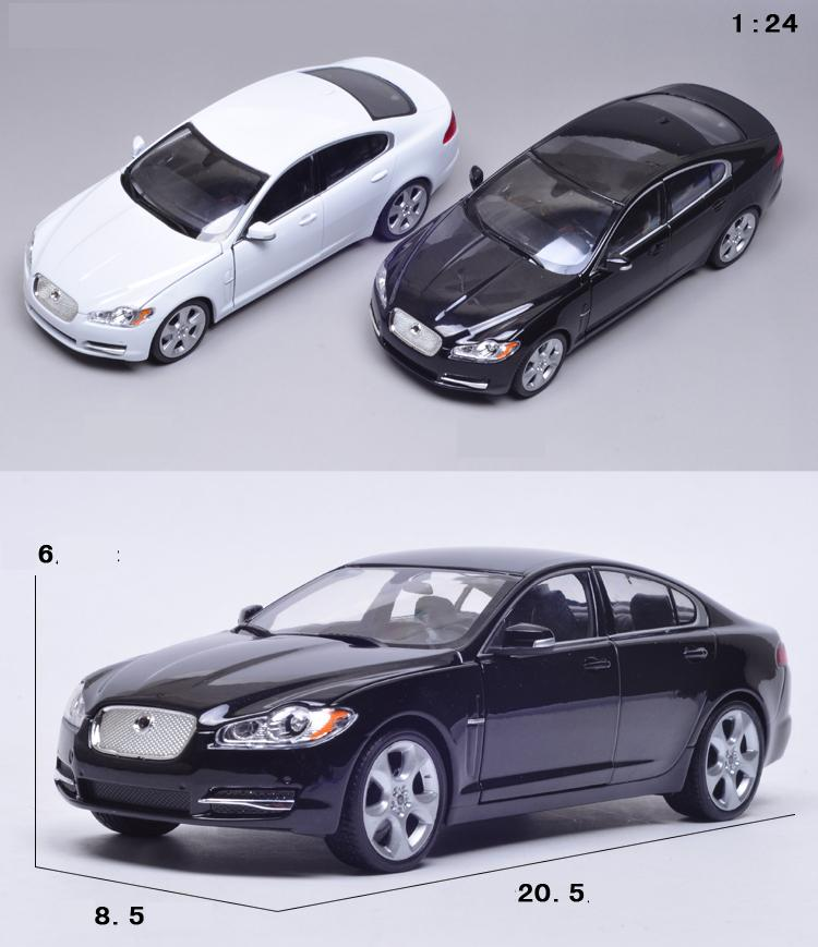 2010 Jaguar Coupe: 1:24 Voiture For 2010 Jaguar XF White ( A Little Defect