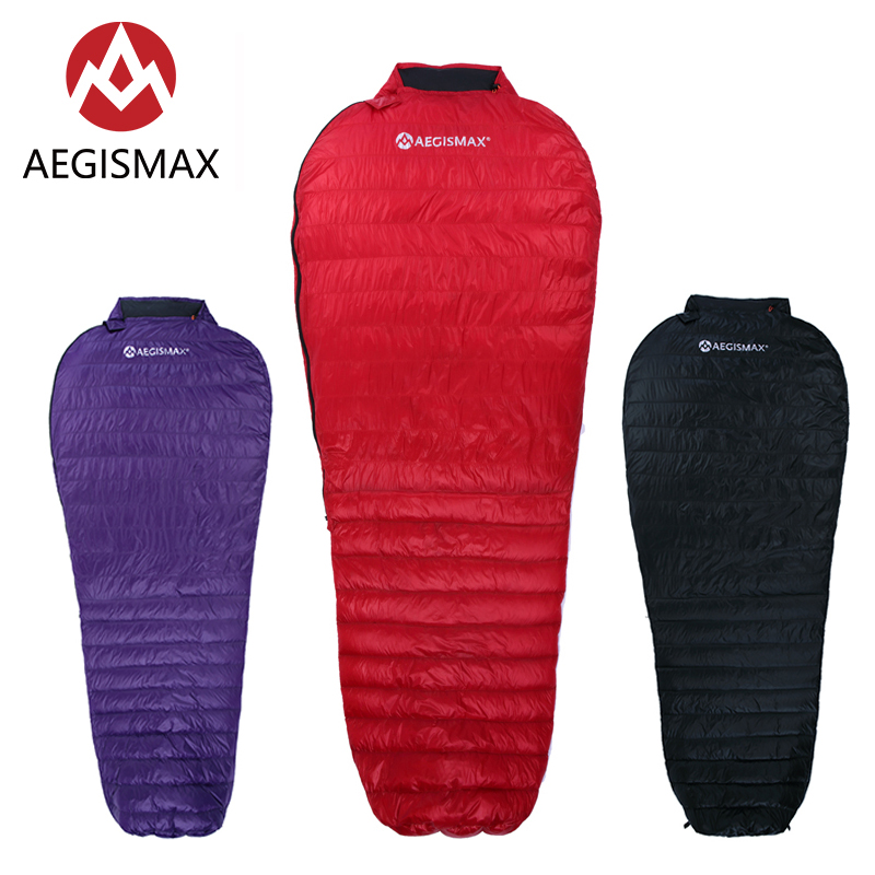 AEGISMAX NANO Upgrade Adult Outdoor Camping Ultralight Spring Autumn Mummy 700FP Ultra Dry Goose Down Sleeping