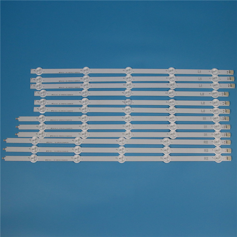 10 Lamps 1000mm LED Backlight Strip Kit For LG 50LN578 50LN5788 50LN5778 50 inch TV Array LED Strips Backlight Bars Light Bands in Shell Body Parts from Consumer Electronics