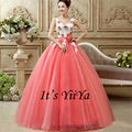 Free Shipping Color Wedding Dress Double shoulder Bride Boat Gowns Cheap Wedding Dress Wedding Frocks Vestidos De Novia QSZY022