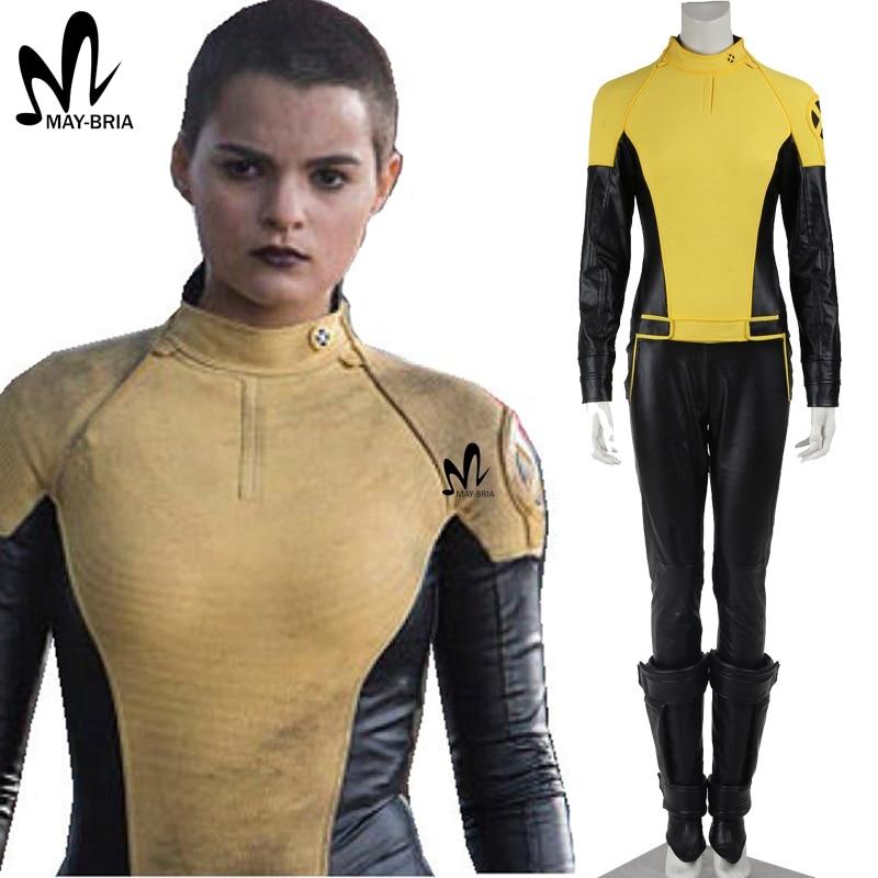X-men Deadpool Negasonic Teenage Warhead Cosplay Costume