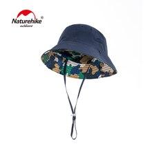 Naturehike SUPPLEX Солнцезащитная Рыбацкая шляпа Сверхлегкая Складная летняя быстросохнущая шляпа-ведро охотничья походная рыболовная шляпа NH18H008-T