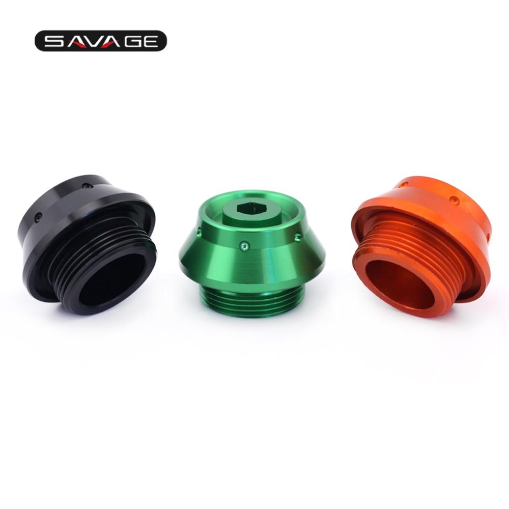 Fuel Cap Bolt Kit for Kawasaki ZRX 1200  from 2001-2008 orange anodised bolts