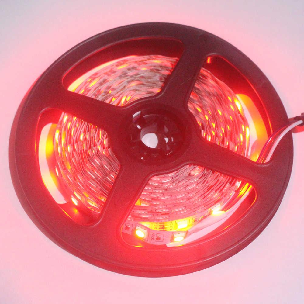 5 4 3 2 1 m m m m m DC 5050SMD 12 v luz de Tira CONDUZIDA Flexível ip20 Non -à prova d' água 60/120/180/240/300 LEDs de Alta Brilhante 10mm RGB CONDUZIU a Fita