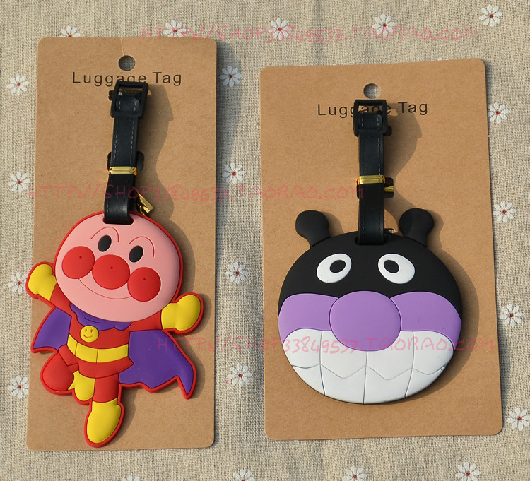 IVYYE Anpanman Anime Travel Accessories Luggage Tag Suitcase ID Address Portable Tags Holder Baggage Labels New