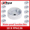 Express Versand 10 teile/los Dahua PFA136 Wasserdicht Junction Box für IPC-HDW4433C-A IPC-HDW4233C-A CCTV POE Kamera