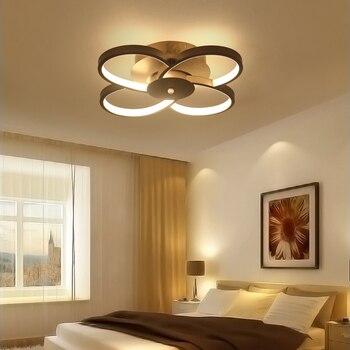 Ɩ�しい現代アートアクリル Led Â�ーリングライトリビングルームの寝室の天井照明寝室 Lamparas Ã�手帖