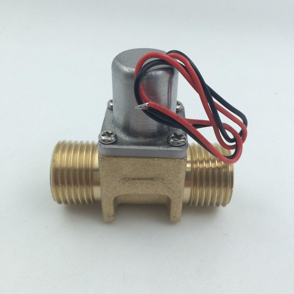 цена Pilot pulsed solenoid valve smart flush valve pulse valve low power solenoid valve DC3.6V-6.5V G1/2 Water purifier sensor faucet