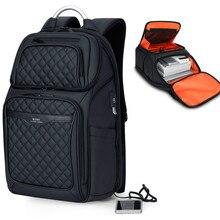 New Mens Laptop Backpack With USB Charging Waterproof Oxford Large Capacity Travel Bag Multifunction Women School Backpacks