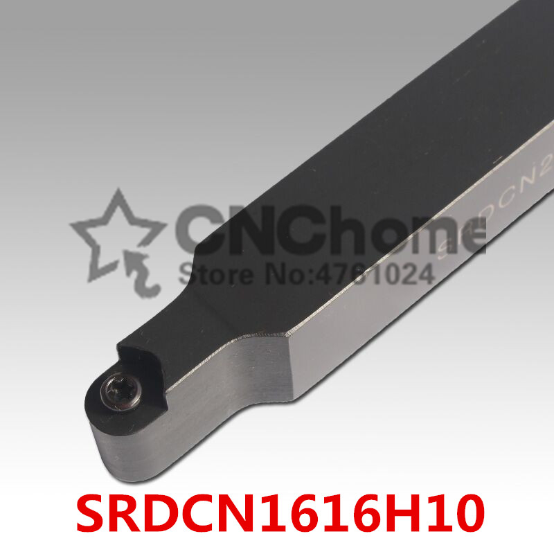 SRDCN1616H10 16*16mm Metal Lathe Cutting Tools Lathe Machine CNC Turning Tools External Turning Tool Holder S-Type SRDCN