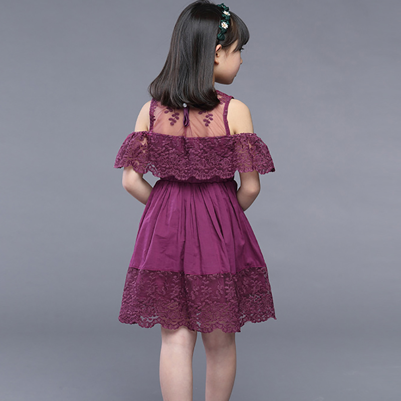 279d51468 New Baby Girl dress 2019 summer Children's Hollow Lace Princess Dresses  kids Party Dress Clothes for girls 4 6 8 10 years old-in Dresses from  Mother & Kids ...