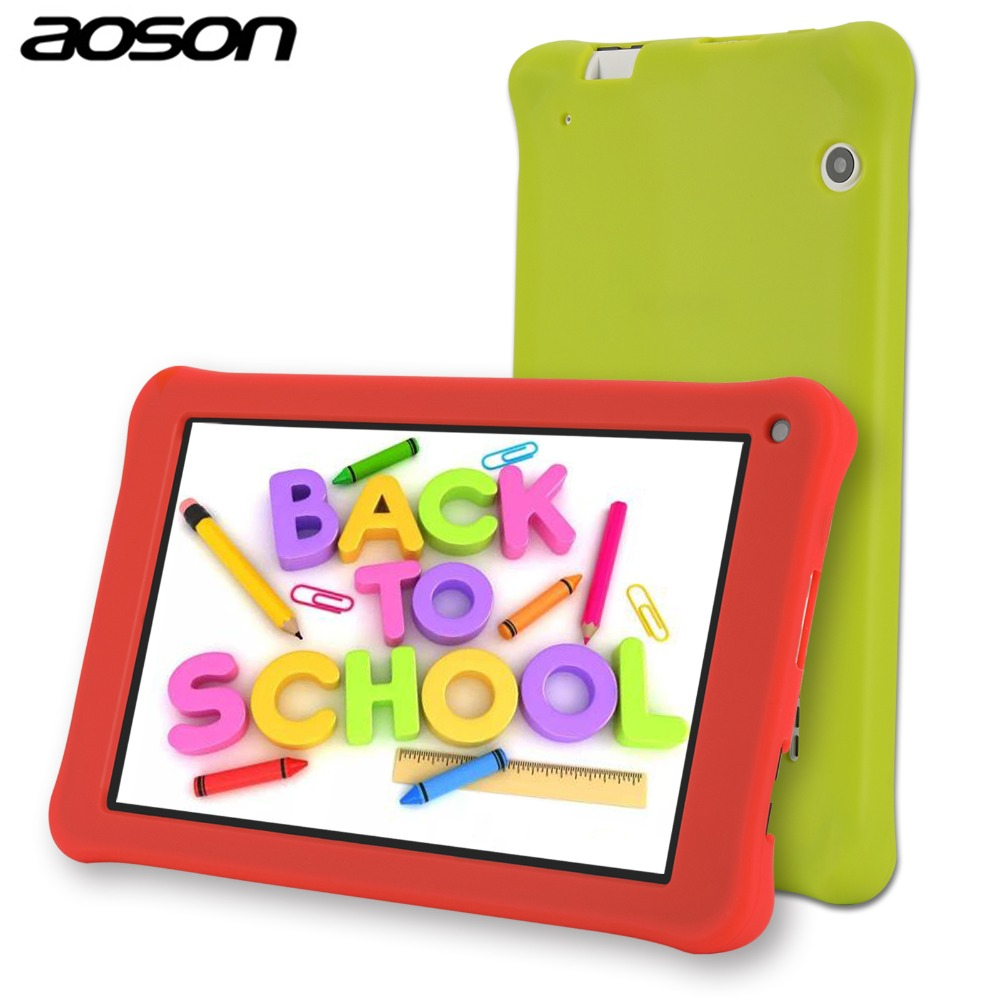 Portable Aoson M753 7 inch HD kids tablet for children Android 7.1 1GB 16GB IPS touchscreen Bluetooth WiFi tablets for kids