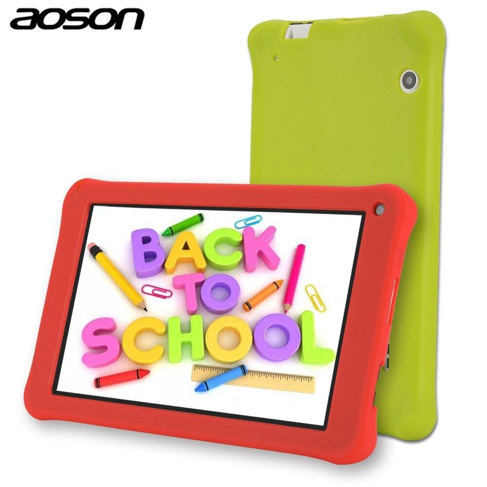 Portatile Aoson M753 7 pollice HD bambini tablet per i bambini Android 7.1 1 gb 16 gb IPS touchscreen Bluetooth WiFi compresse per i bambini