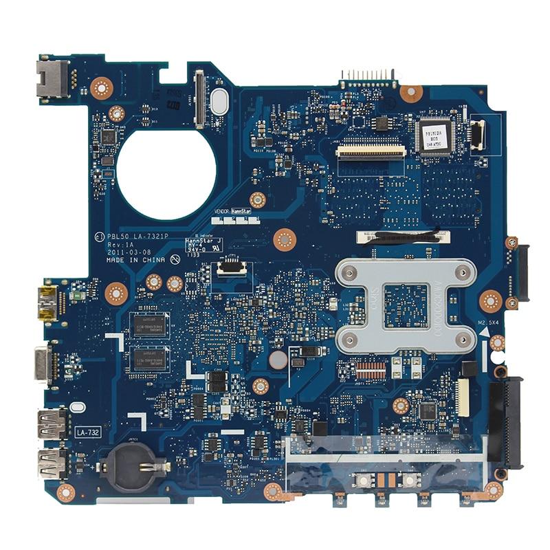 Original For ASUS K43B K43BR K43BY K43BE X43B K43 X43 laptop motherboard PBL50 LA-7321P E450/E350 HD6470  DDR3 100% fully Tested 1