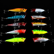 10pcs/lot  Set Mixed  Fishing Lures Set China Hard Bait Jia Lure Wobbler Carp  Fishing Tackle wholesale Topwater Popper  Pesca