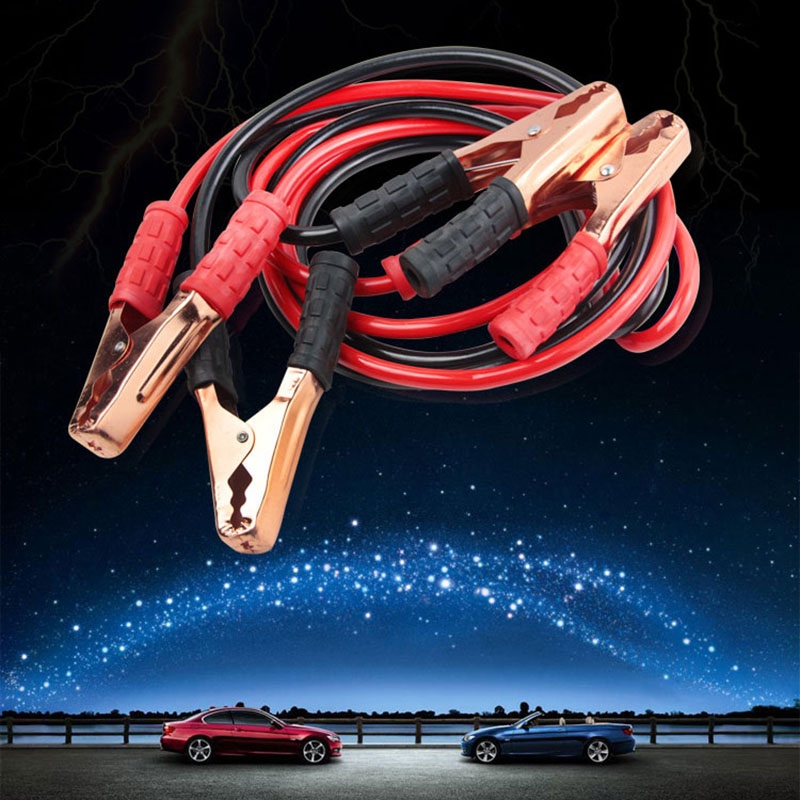 Booster Cable Battery Power-Charging Jump-Start-Leads Heavy-Duty Emergency 2M Car Van