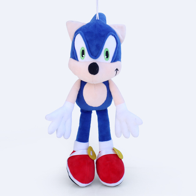 1pcs Sonic Plush Toy Doll 30cm Sonic The Hedgehog & Black Shadow the Hedgehog Plush Stuffed Toys for Children Kids Xmas Gift