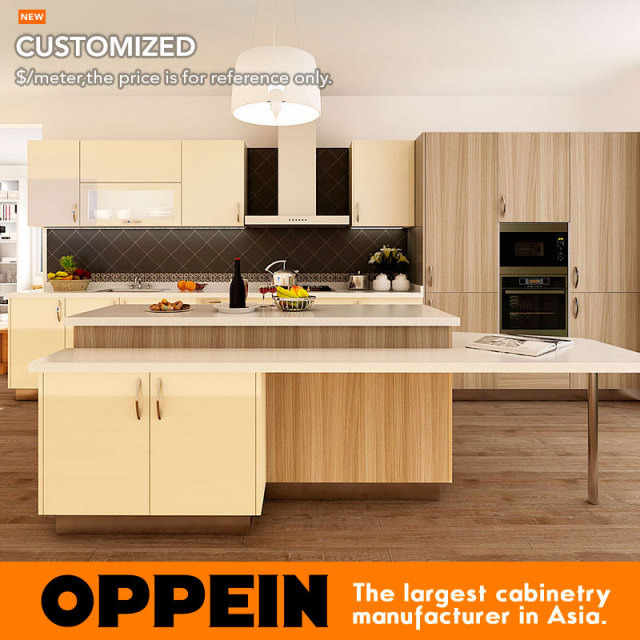 7 Days Delivery Affordable Modern Laminate Sheet Kitchen Cabinet Products Op14 K004