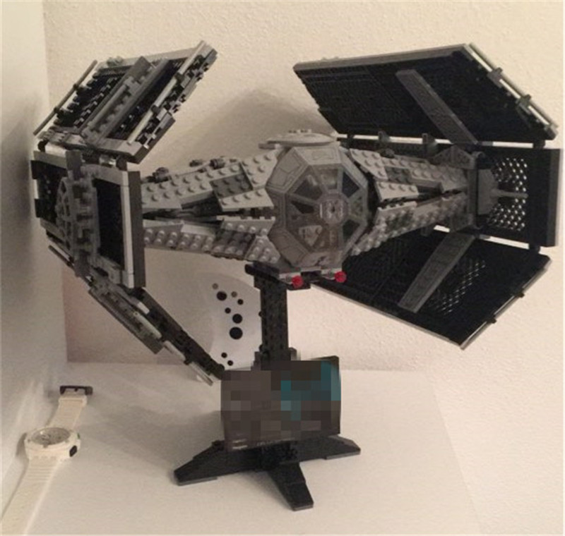 1212pcs Star Space War The Rogue One USC Vader TIE Advanced Fighter Set Building Blocks Bricks Educational Figure DIY Model lepin 05060 the rogue one usc naboo style fighter set 10026 star series wars 187pcs building blocks bricks educational toys