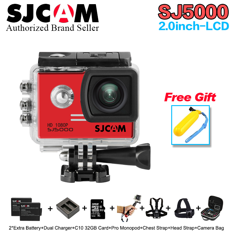 Original SJCAM SJ5000 Action Camera 1080P Full HD Sports DV 2.0 inch Diving 30M Waterproof mini Camcorder SJ 5000 Sport Cam