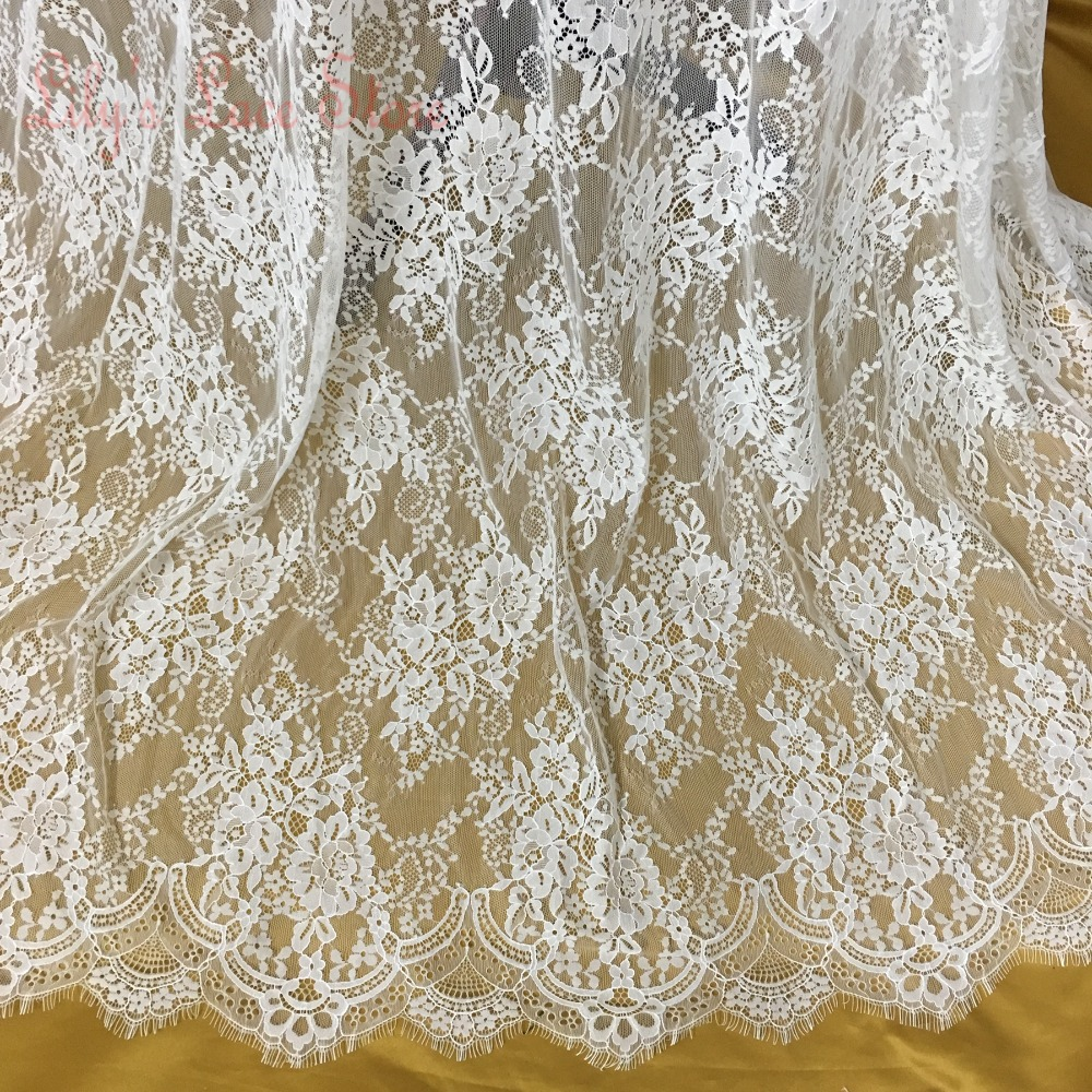 2015 super fashion bridal lace fabric for wedding dresses for Wedding dress fabric stores