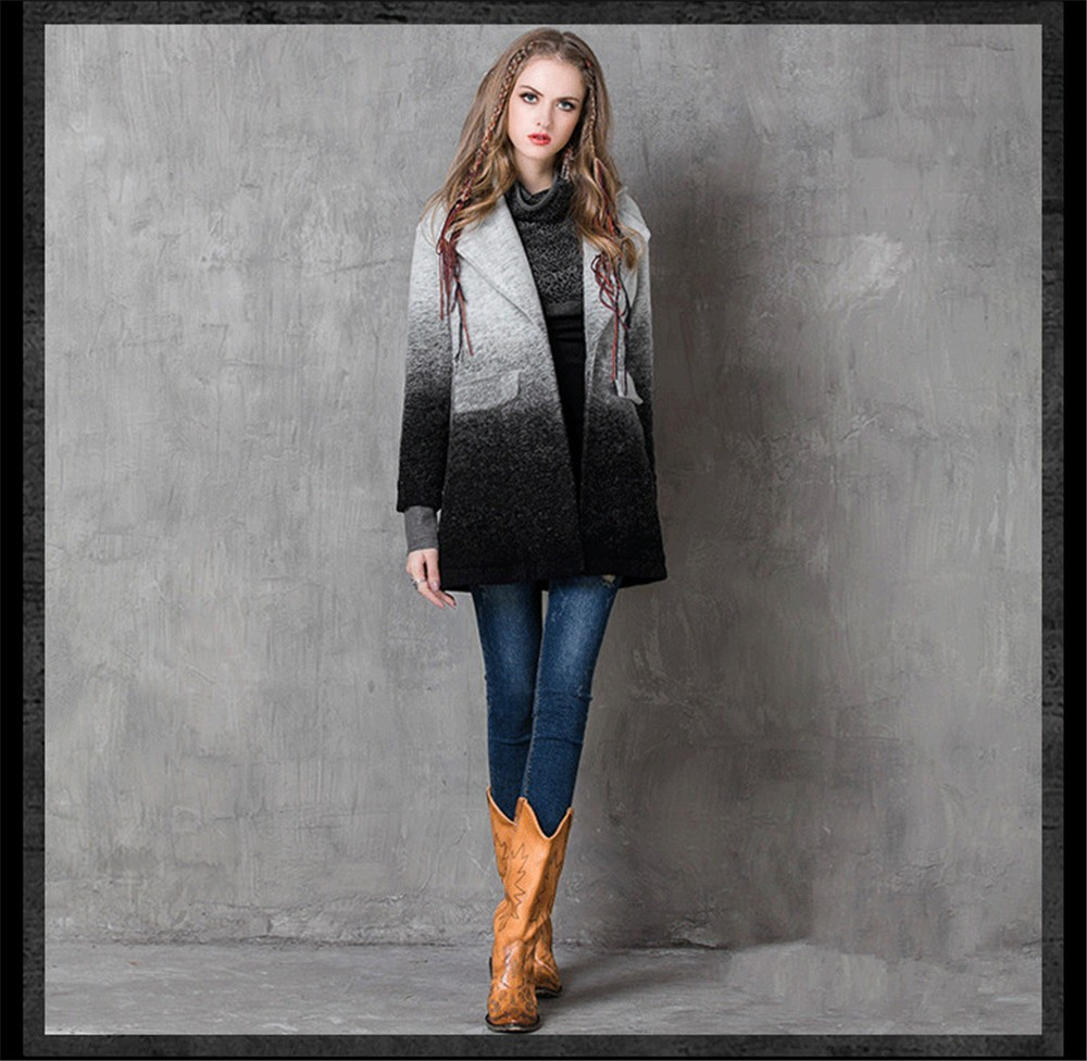 Vintage Warm Women Cashmere Coat 2016 High quality Winter Coat Women Long Sleeve Jacket Winter long Woman coats Cashmere coats (11)