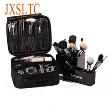 Vanity Brand Women Cosmetic Bag High Quality Travels Cosmetic box Organizer beautician Portable Makeup case Pouch makeup Bag