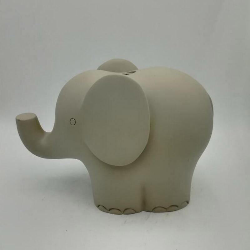 A forma di elefante concete fermacarte muffa della candela del silicone stampi decorazione Desktop di cemento stampi