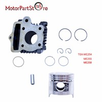 50cc Cylinder Piston Ring Kit for Honda CRF50 CRF50F XR50 XR50R CRF XR 50 Engine Motorcycle Accessories