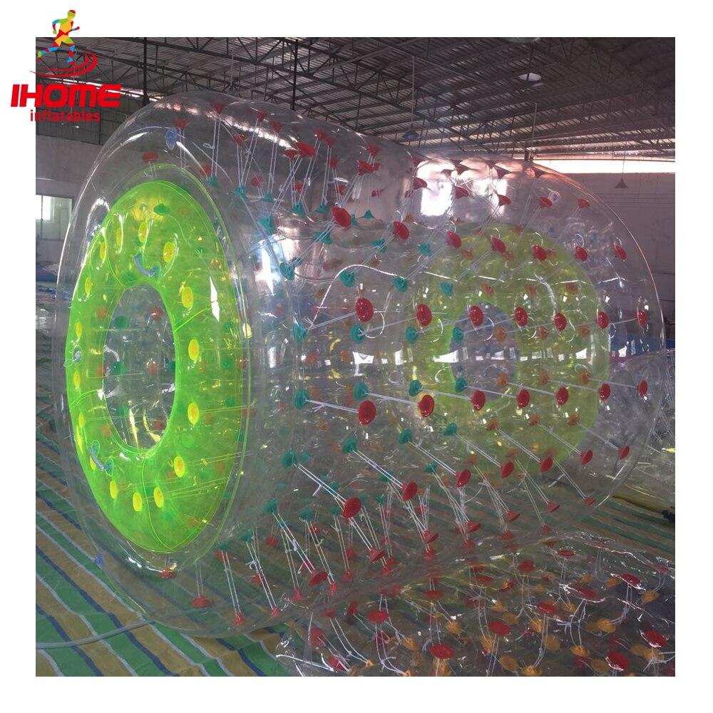 IHOME PVC gonfiabile rullo acqua gonfiabile a piedi a sfera roller sfera di rullo gonfiabile dell'acqua nuovo arrivo di acqua palla a piedi