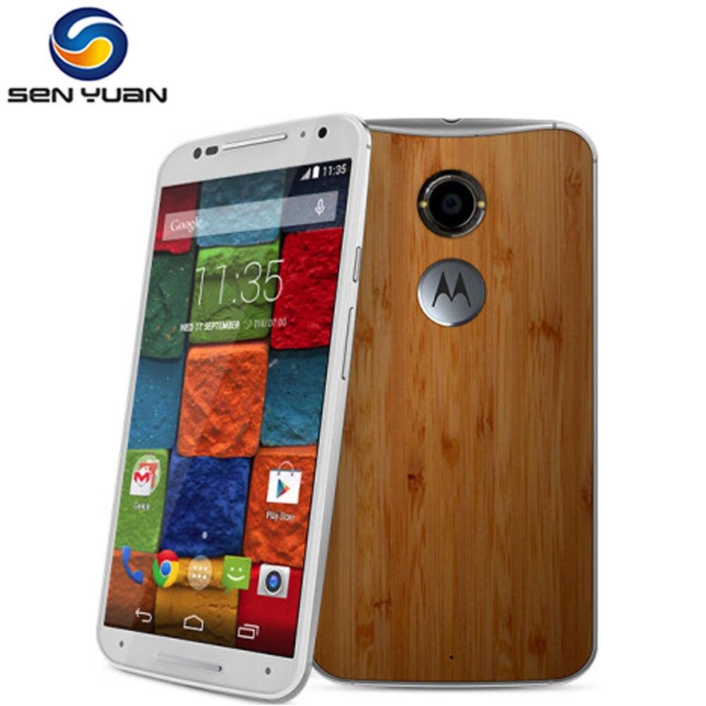 """Цена за Оригинальный Разблокирована Motorola Moto X 2nd Gen XT1096 Мобильного Телефона 5.2 """"сенсорный Экран 2 ГБ RAM 16 ГБ/32 ГБ ROM 3 Г и 4 Г xt1096 сотовый телефон"""