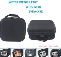 1pc Transmitter Storage Bag For WFT07/09S ET07 / RadioLink AT9S/FrSky X9D Remote Controller Collection Storage Case Carring Case