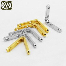32Pcs 30*30*6mm Antique Bronze For Miniature Furniture Hinge Retro Jewelry Boxs Hinge Support Iron Spring Hinge