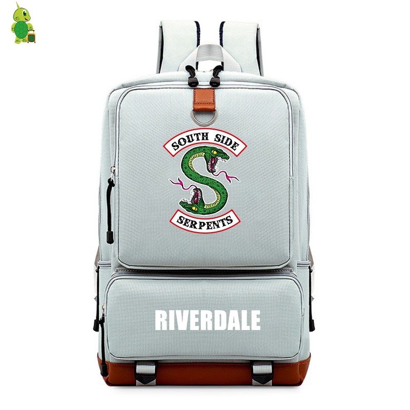 Riverdale South Side Backpack School Bags for Teenagers College Student Laptop Backpack Women Men Large Travel Bags in Backpacks from Luggage Bags