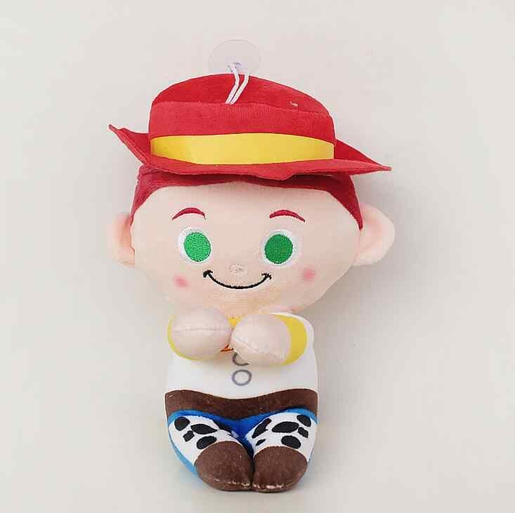 Bộ Phim Disney Câu Chuyện Đồ Chơi 4 Đồ Chơi Nhồi Bông của Andy Cảnh Sát Trưởng Thân Gỗ Jessie Buzz Lightyear Người Ngoài Hành Tinh Sang Trọng Búp Bê Mặt Dây Chuyền Quà Tặng trẻ em