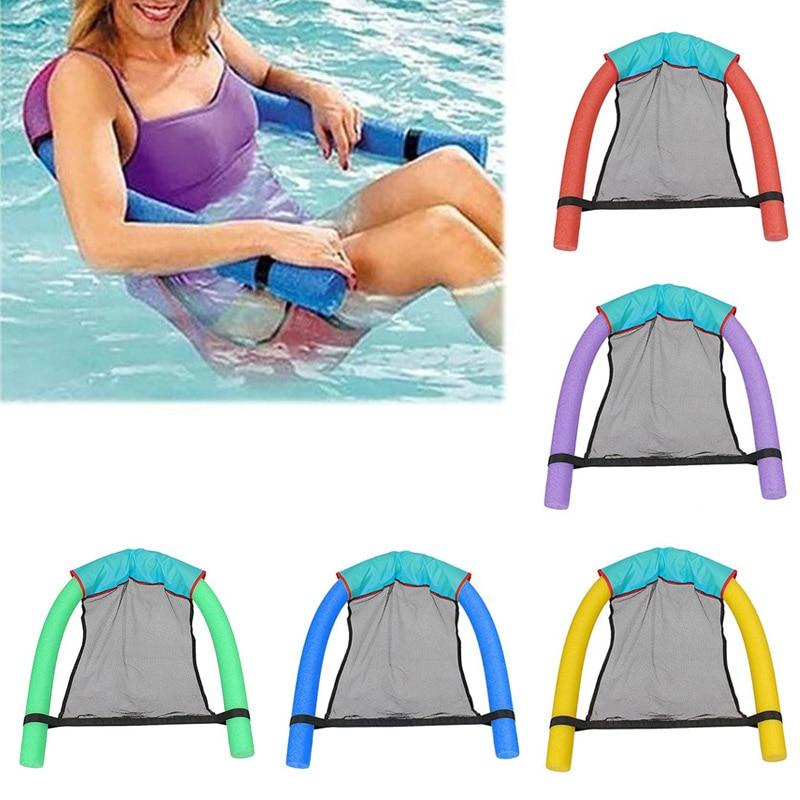 Новый пул плавающие стул Одежда заплыва бассейны Стульчики Детские удивительно плавающей кресло-кровать лапши стулья b2cshop ...