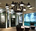 Современные 9 головок E27 светодиодные подвесные светильники для гостиной подвесные светильники