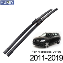 Xukey 2Pcs/set Front Windshield Wiper Blades For Mercedes-Benz ML GLE 250 350 400 550 63 43 W166 2011 - 2019 26