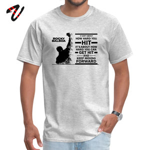 Designer Men Tshirt Cotton Boxer ROCKY BALBOA Tops Tees Old Letter Print T Shirt High Quality Fighter Club Group T-shirt Custom