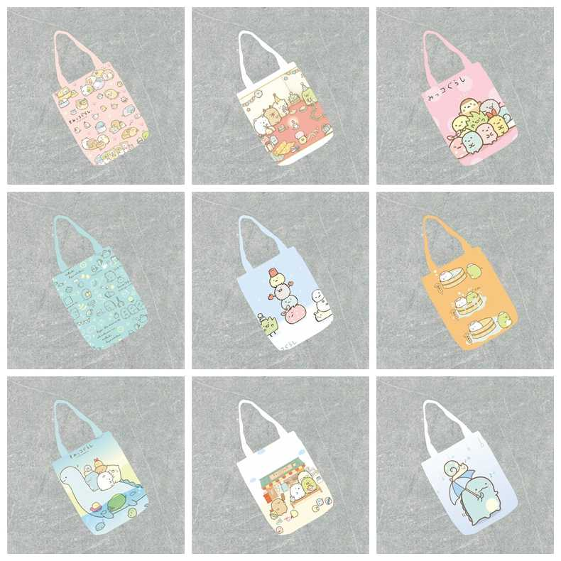 Sumikko Gurashi PU shoulder bag handbag storage tote bag phone makeup bags