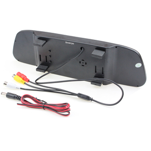 """Image 5 - 2020 5"""" Digital Color TFT 800*480 LCD Car Parking Mirror Monitor 2 Video Input For Rear view Camera Parking Assistance System"""