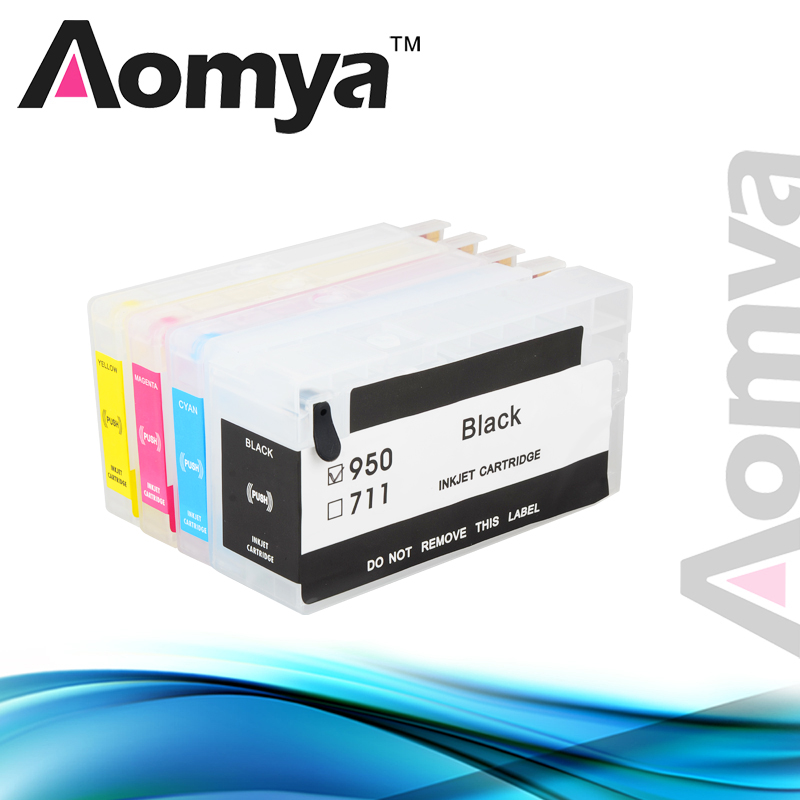 Aomya Refillable Ink Cartridge Compatible For HP 950 For HP Officejet Pro 8100 8600 8630 8640 8610 8620 8680 8615 8625 8660