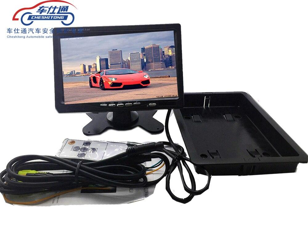 7 дюймовый автомобильный экран TFT LCD цветной автомобильный монитор безопасности экран Автомобильный Реверсивный дисплей|car display|display tftcar monitor | АлиЭкспресс