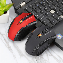 2017 New Wireless Mouse 1600DPI 2.4G Gaming Mouse Laser Mouse Gamer Silence Built-in Battery Computer Mice For PC Laptop