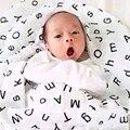 Bebê Toalha De Algodão Muçulmano Macio Produtos de Cama Infantil Toalha de Banho Do Bebê Recém-nascido Cobertores Bebê Swaddle Envoltório 104 cm X 112 cm